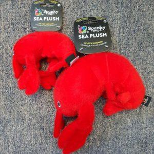 Spunky Pup Sea Plush Lobster