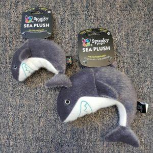 Spunky Pup Sea Plush Shark