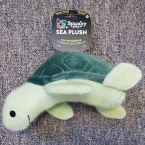 Spunky Pup Sea Plush Turtle Medium
