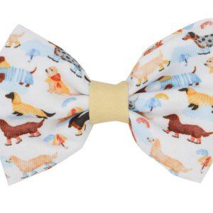 Sassy Woof Dog Bow Tie Dachshund